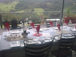 Balcony fine dinning