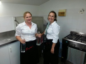 A Class Caterings friendly staff